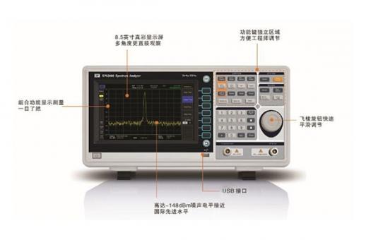 SPA3000频谱仪B面
