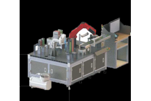 双机器人视觉装配实训平台