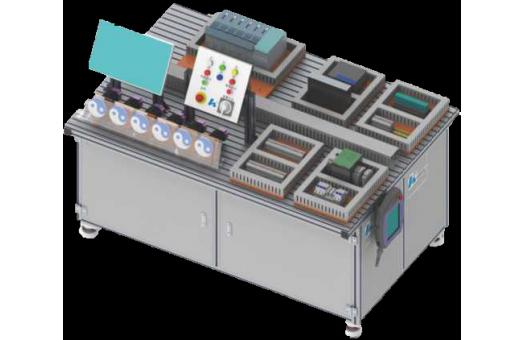 工业机器人开放式电控拆装实训平台