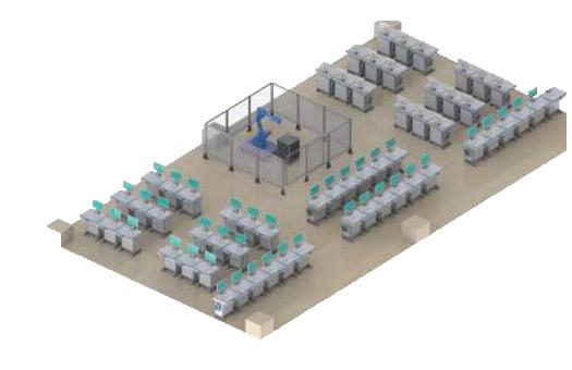 工业机器人理实一体化实训平台